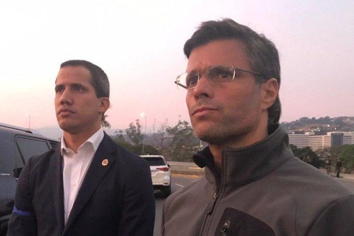 En video junto a Leopoldo López, Juan Guaidó hace llamado a la unión por la liberación de Venezuela