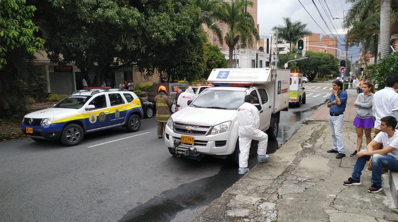 Autoridades investigan doble homicidio en incendio registrado en Laureles