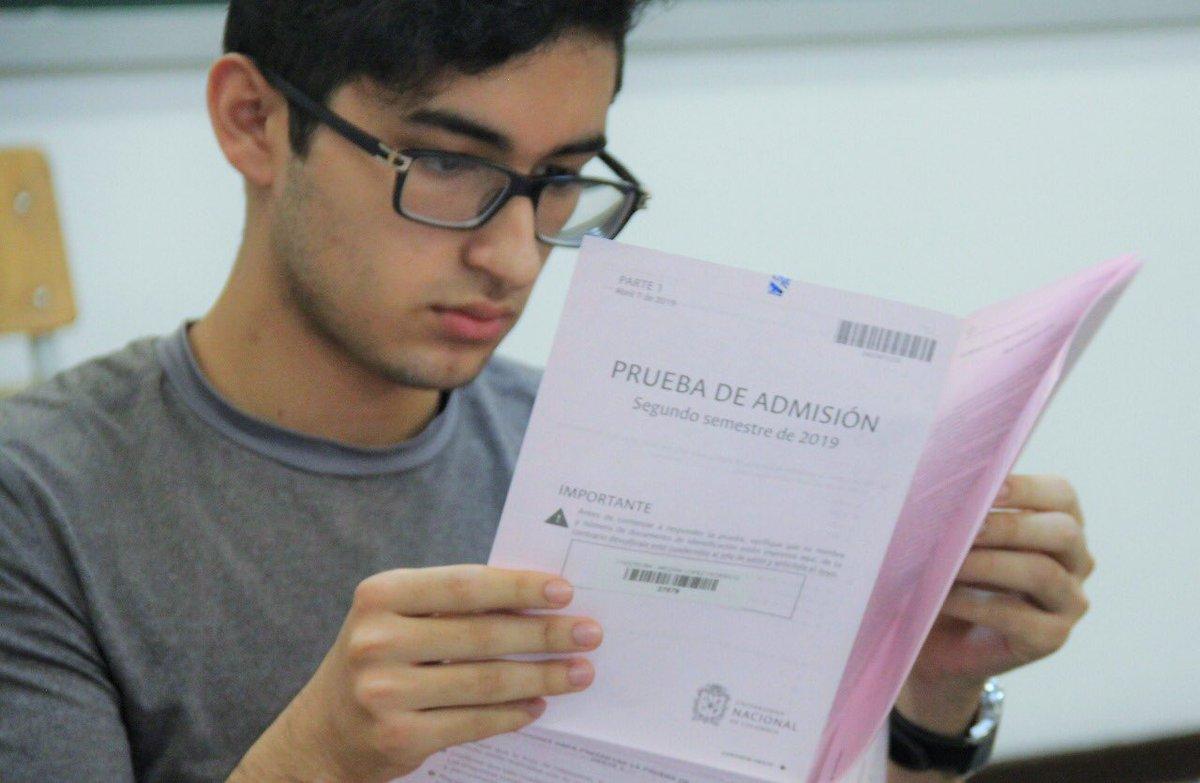 Más de 3 mil personas presentaron examen de admisión en la Unal