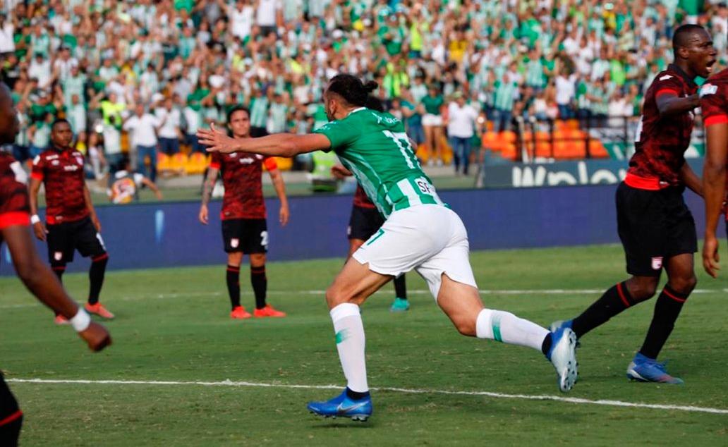 Atlético Nacional ganó y clasificó a los cuadrangulares