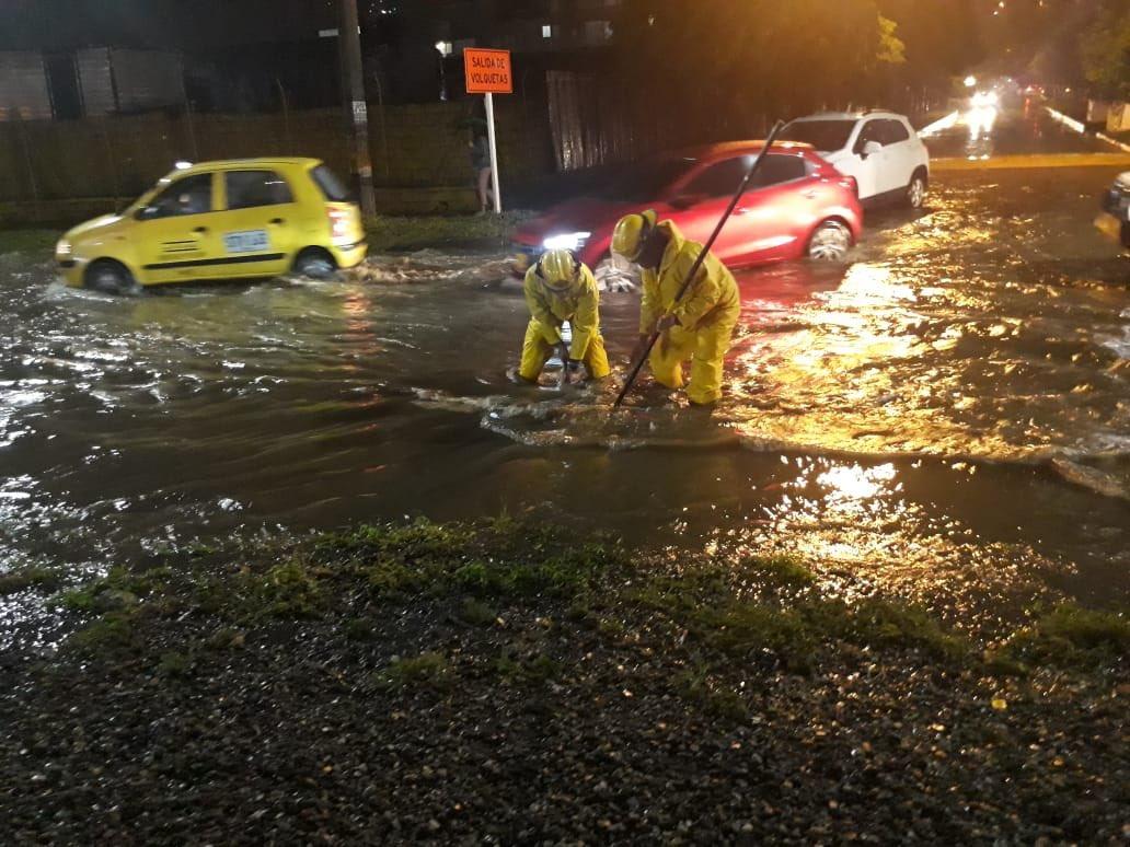 Lluvias ocurridas en Bello causaron inundaciones en zonas del municipio