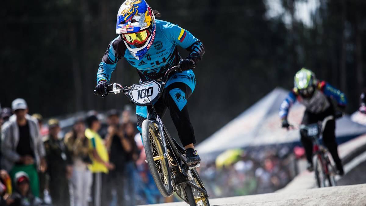 Mariana Pajón se llevó el oro en el Panamericano de BMX en Brasil