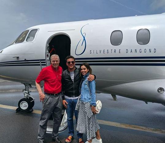 Silvestre Dangond compartió la foto de su nuevo avión privado