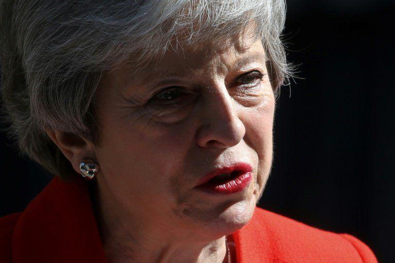 La primera ministra británica Theresa May anunció su renuncia