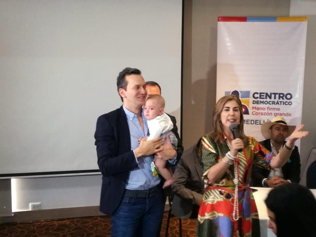 Alfredo Ramos es el candidato del Centro Democrático para la Alcaldía de Medellín