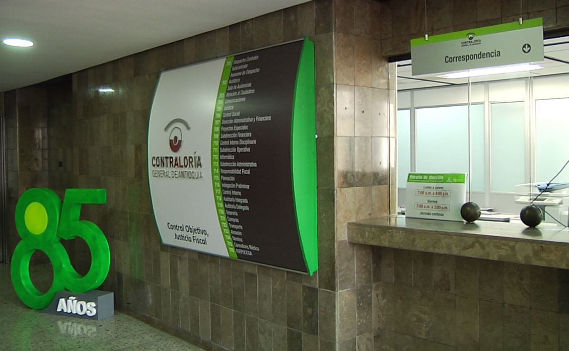 Fiscalía realizó allanamientos a oficinas de Contraloría de Antioquia