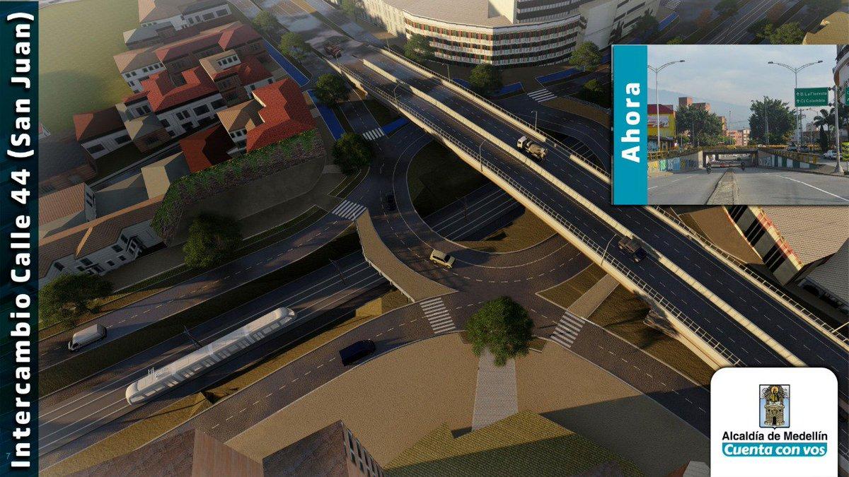 Así será el Metro ligero que se proyecta construir en el corredor de la 80