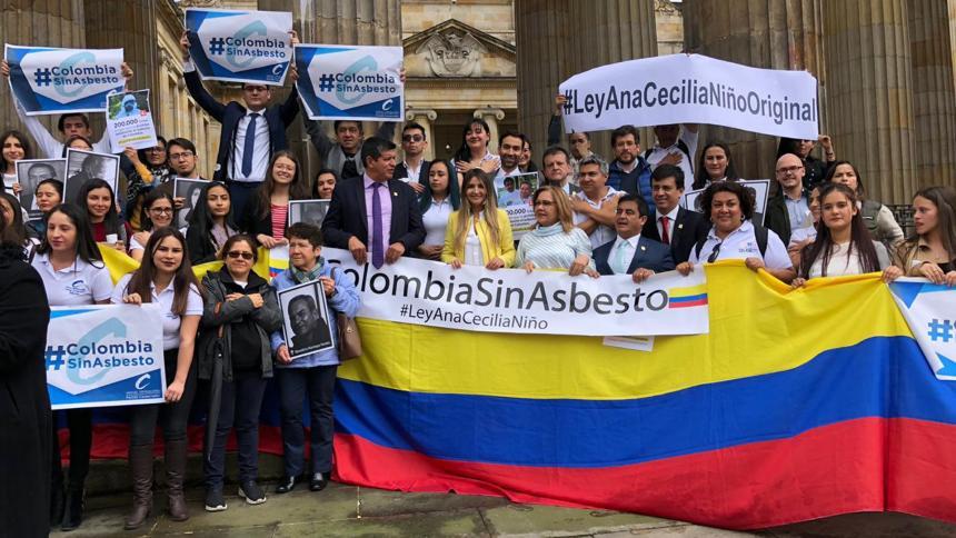 Congreso prohibió el uso del asbesto en Colombia a partir de 2021