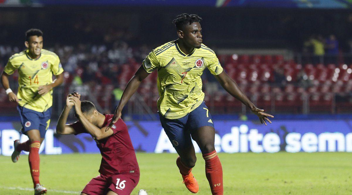 Colombia le ganó a Qatar y se clasificó a cuartos de final de la Copa América