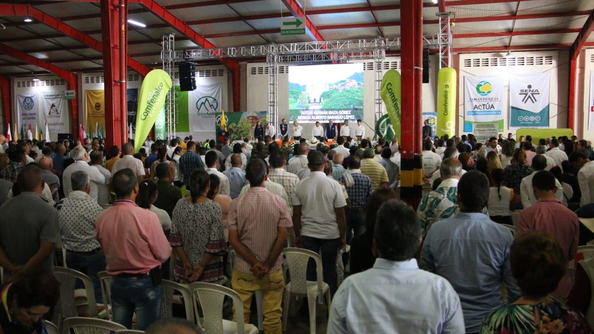 Avanza el Encuentro de Dirigentes Antioqueños en el municipio de Andes