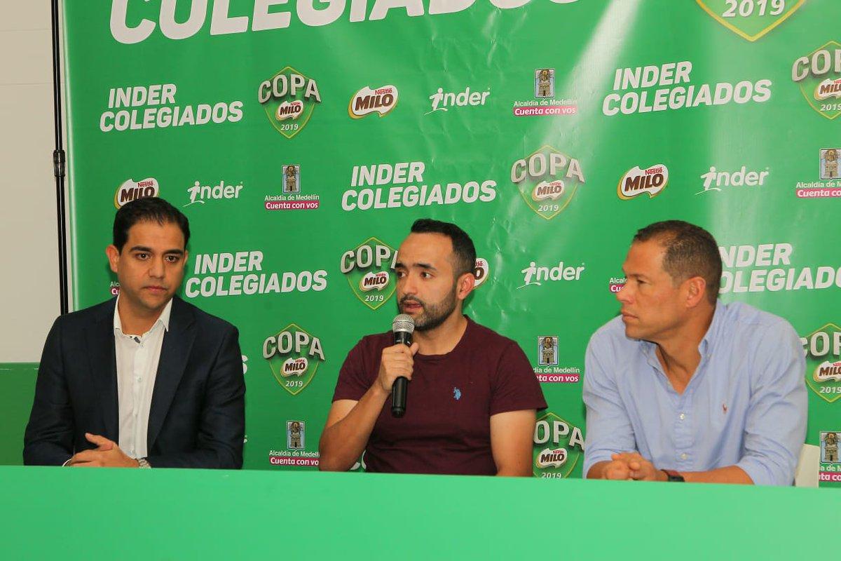 Fueron presentados los Juegos Indercolegiados en Medellín