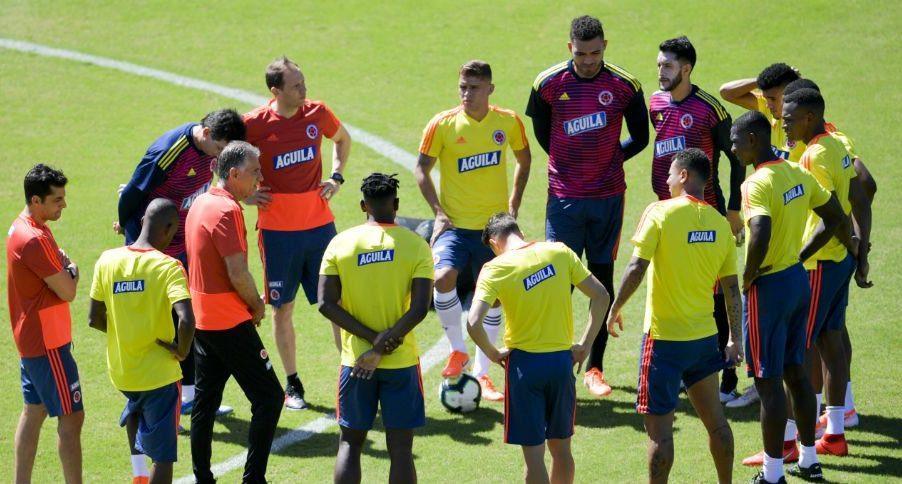 Con una única baja, Colombia se alista para enfrentar a Catar