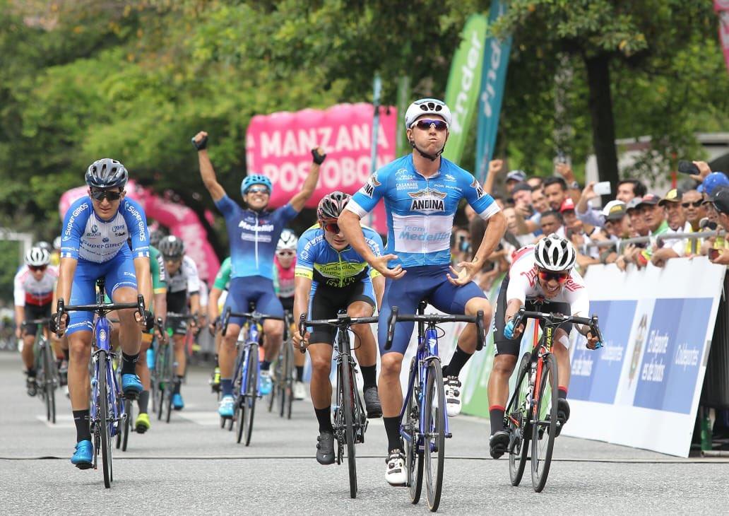 Weimar Roldán ganó la séptima etapa de la Vuelta a Colombia