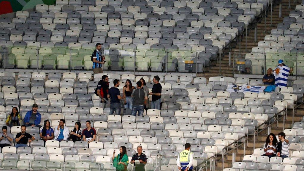 Baja asistencia en los estadios preocupa a los organizadores de la Copa América