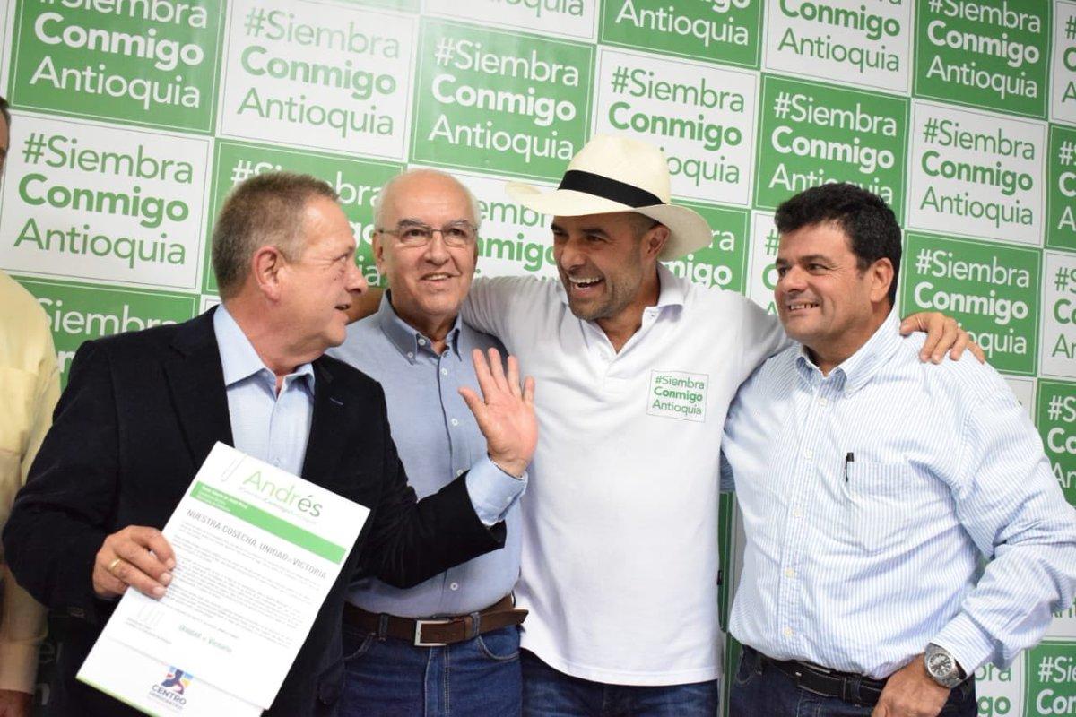 Andrés Guerra anunció una nueva adhesión a su campaña