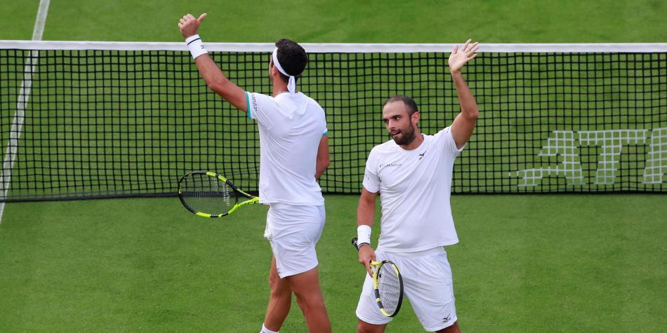 ¡Histórico! Cabal y Farah, a la final de Wimbledon