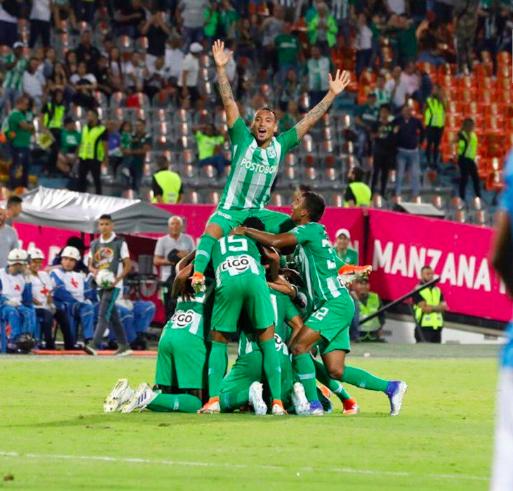 Atlético Nacional se llevó la victoria frente a Unión Magdalena
