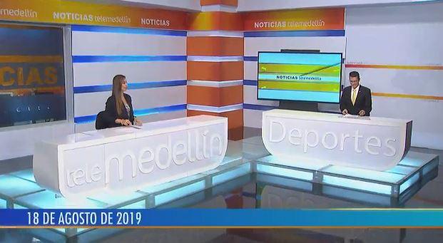 Noticias Telemedellín 18 de agosto de 2019 emisión 12:00 m.
