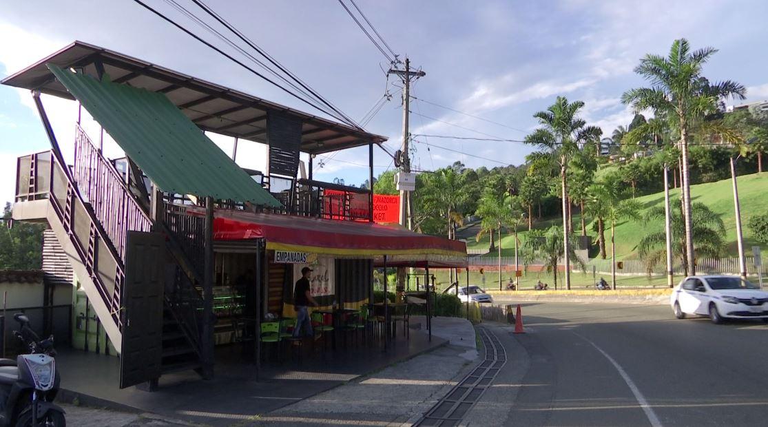 Preocupación de los comerciantes en el alto de Las Palmas
