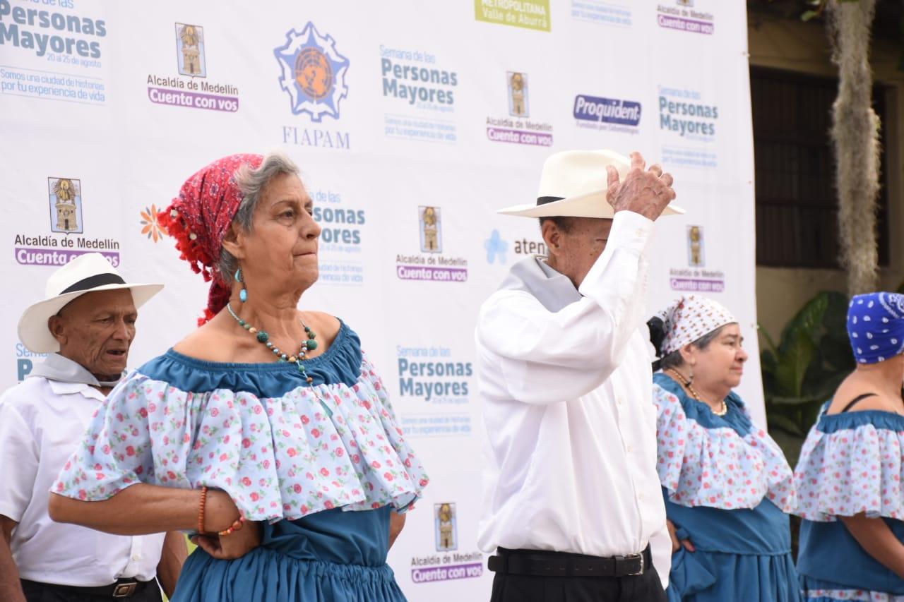 Todo listo para la Semana de las Personas Mayores en Medellín