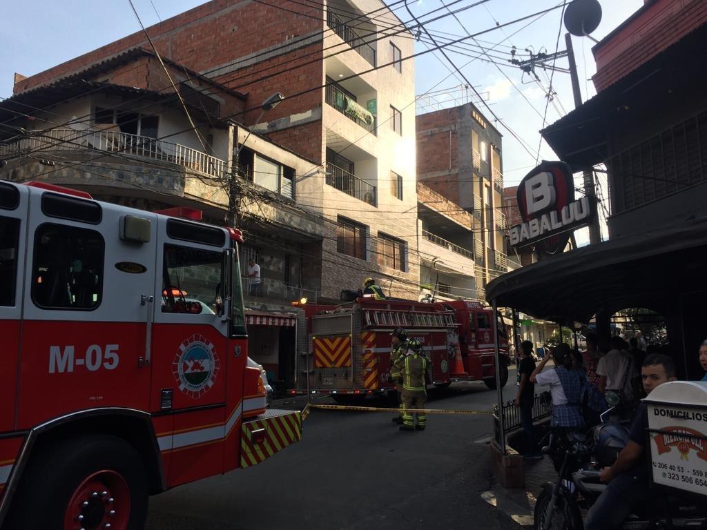 ((Video)) Emergencia en el Barrio obrero en el municipio de Bello