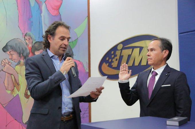 Juan Guillermo Pérez se posesionó como nuevo rector del ITM