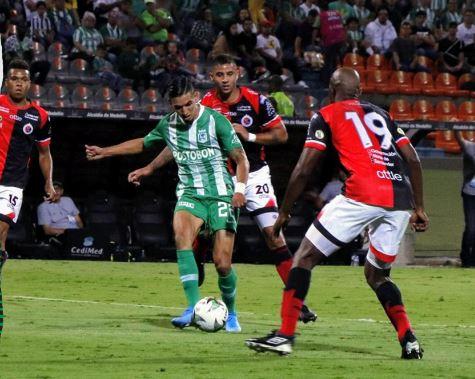 Atlético Nacional perdió el invicto contra Cúcuta Deportivo