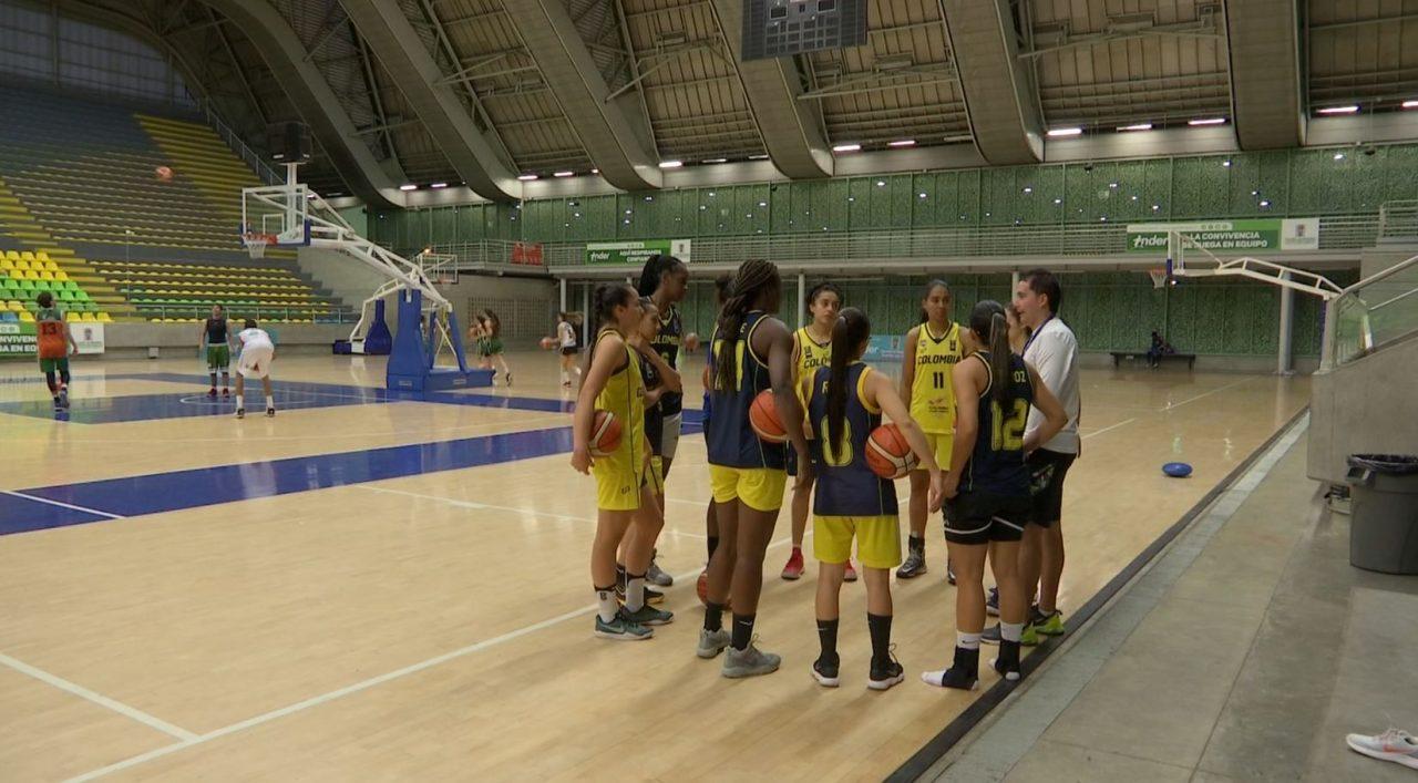 Selección Colombia Femenina de Baloncesto se prepara para Copa América FIBA