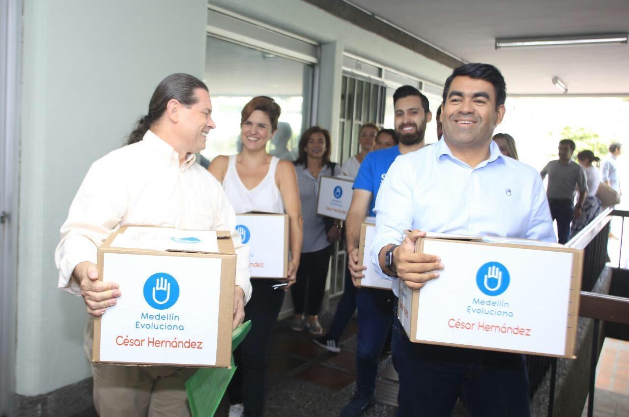 Registraduría no certificó la candidatura de César Hernández a la Alcaldía de Medellín