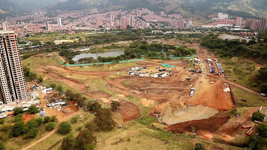 Comenzó la construcción del Central Park en el municipio de Bello