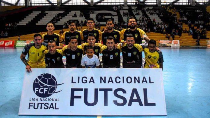 Equipo de Leones avanzó a octavos de final de la Liga Nacional de Fútsal