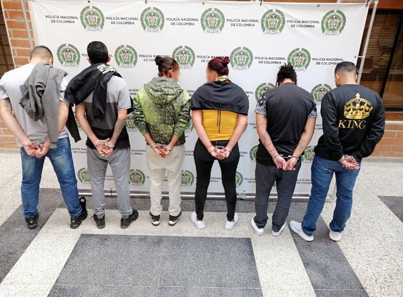 """Las autoridades capturaron ocho integrantes de """"Los Chivos"""""""