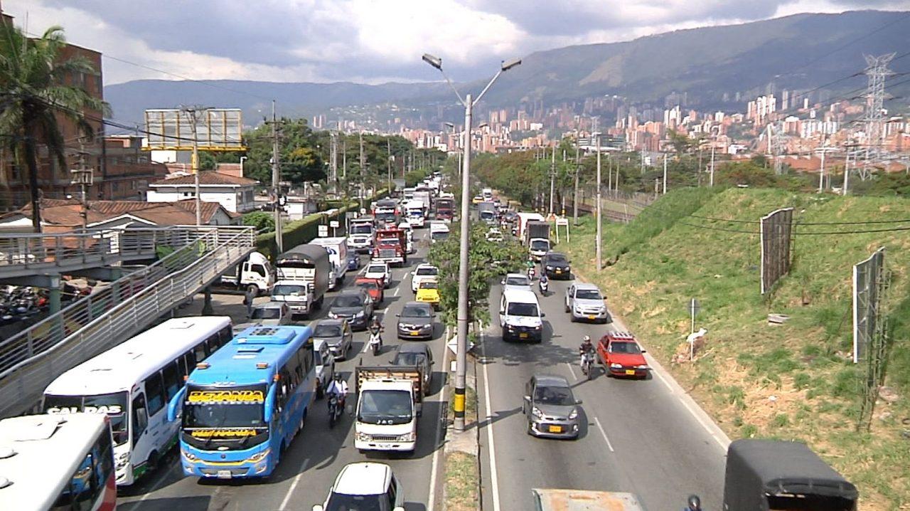 Tramo de autopista sur en Itagüí registra el 50% de los incidentes viales del municipio