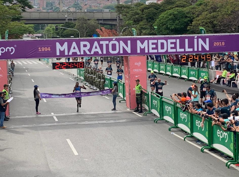 La maratón Medellín se correrá el próximo año