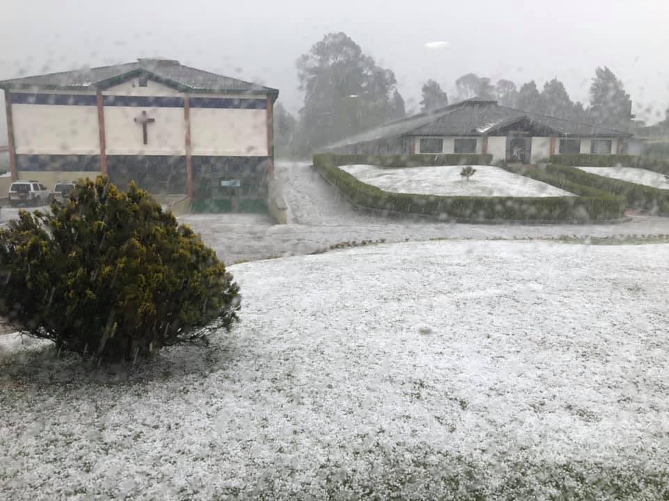 23 viviendas afectadas luego de granizada en Santa Rosa de Osos - Telemedellín