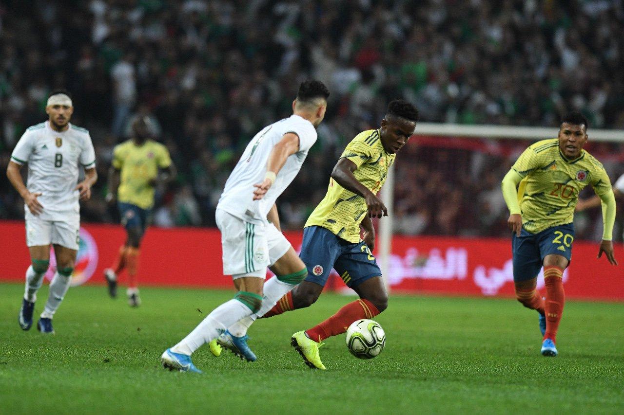 Colombia perdió 3-0 frente a la Selección Argelia
