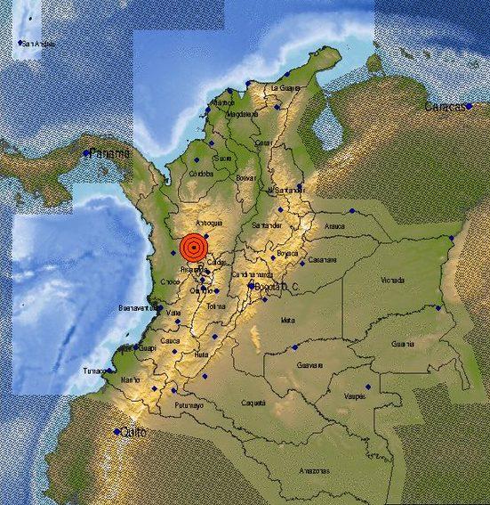 Sismo de magnitud 4.2 se sintió en varios lugares de Antioquia