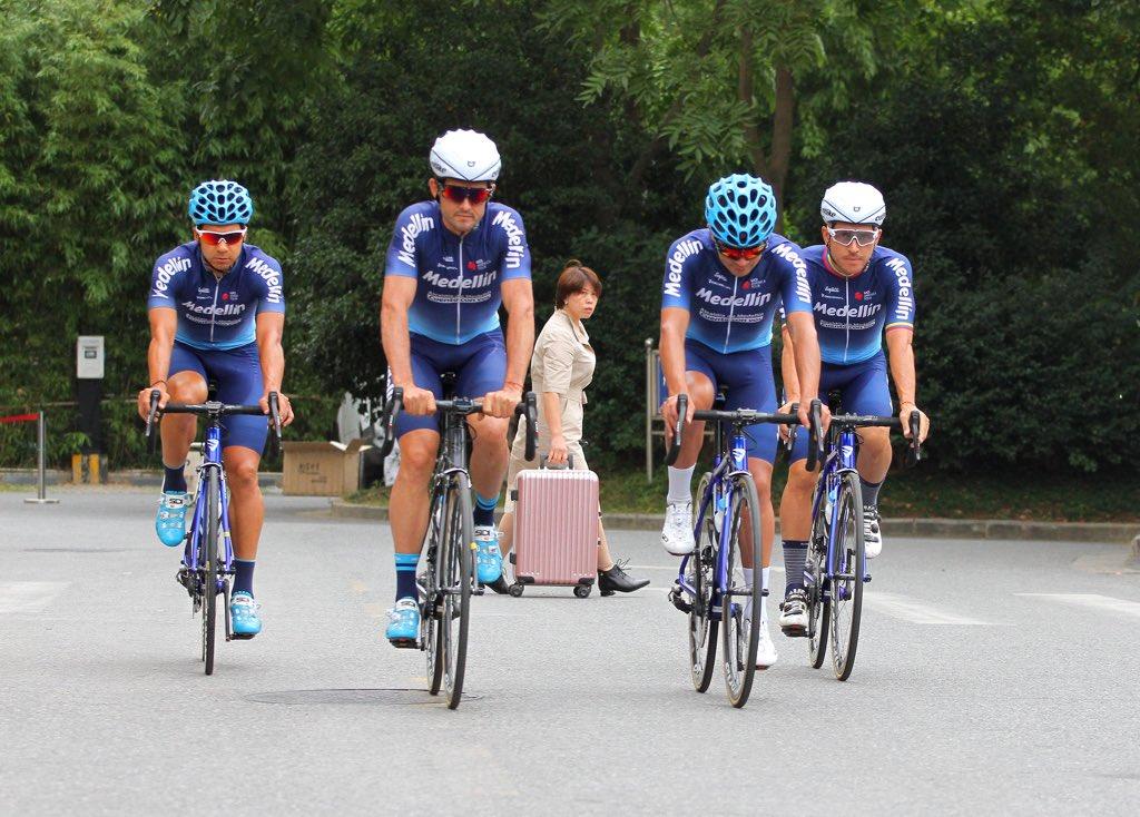 Team medellín de ciclismo espera ser protagonista en el Tour Taihu Lake