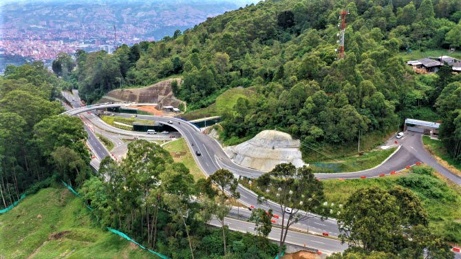 Odinsa adquirió la participación mayoritaria del Túnel de Oriente