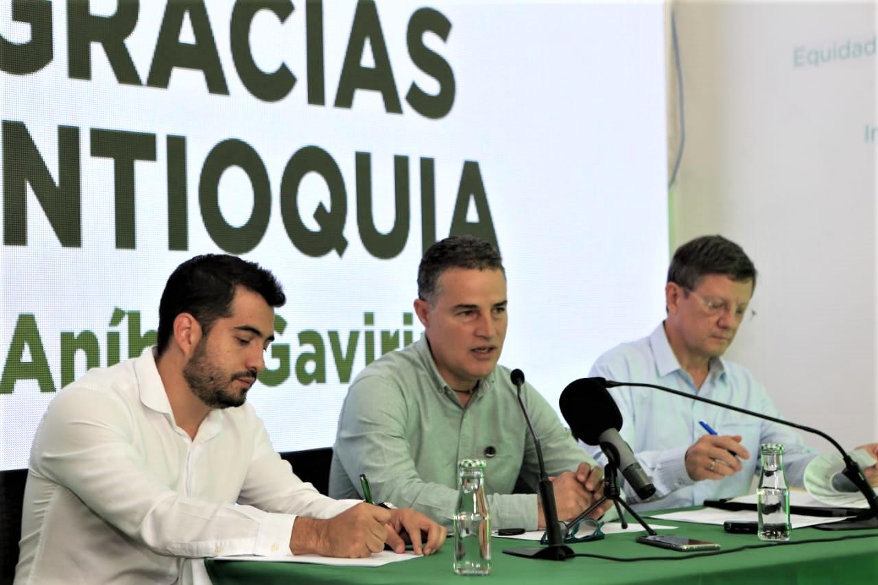 Aníbal Gaviria se refirió al proceso de empalme y a Hidroituango