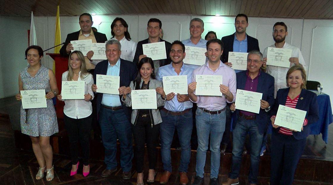 Alcalde electo y concejales de Medellín recibieron credenciales