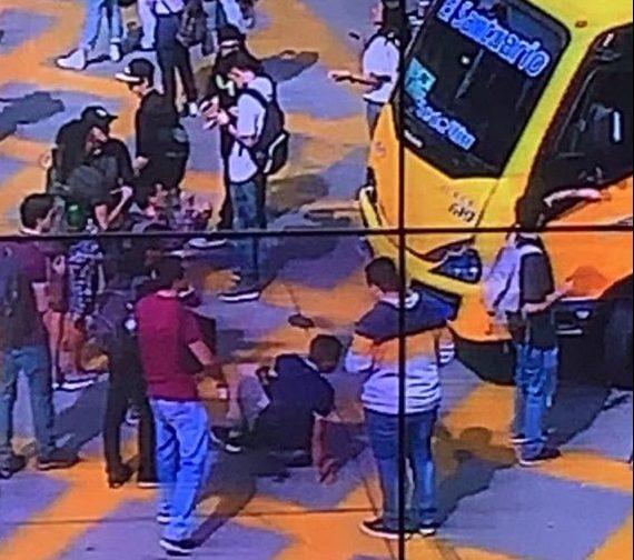 Durante una hora manifestantes bloquearon la calle Barranquilla