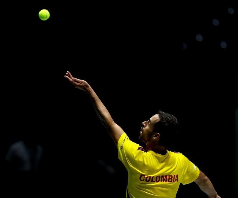 Colombia debutó con derrota en Copa Davis ante Bélgica