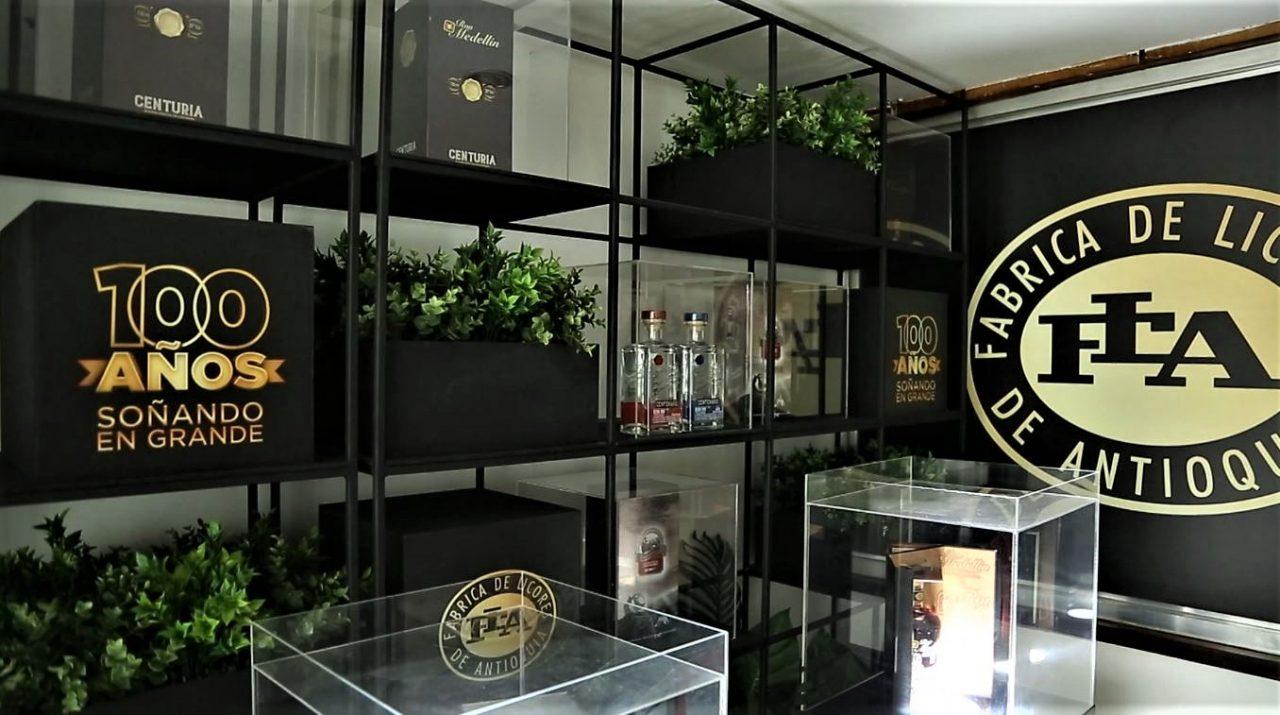 Fábrica de Licores de Antioquia celebra sus 100 años de historia y trayectoria