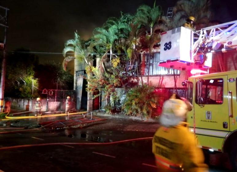Incendio en La Aguacatala dejó pérdidas por más de mil millones de pesos