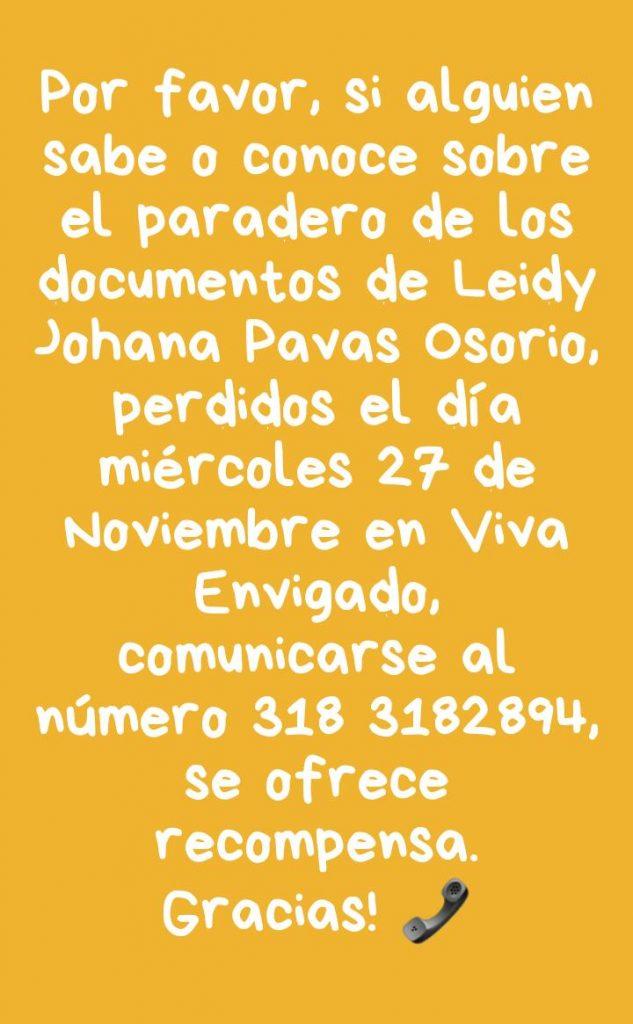 Leidy Johana Pavas Osorio