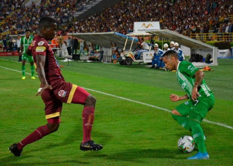 Nacional perdió un partido clave ante Deportes Tolima - Telemedellín