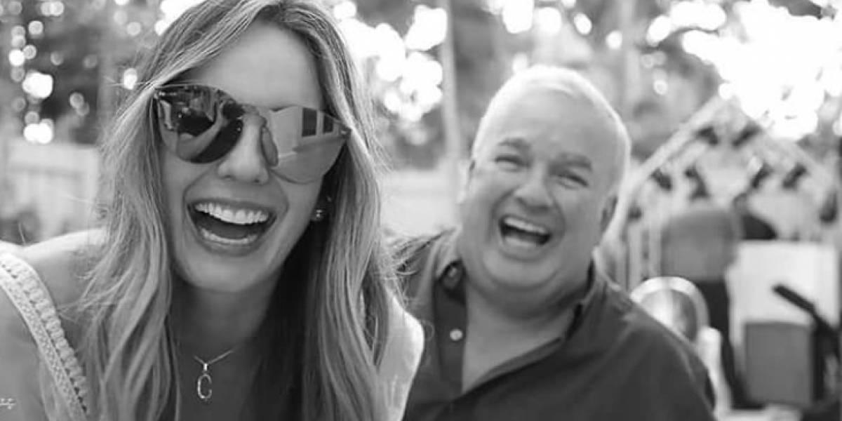 Falleció el padre de Claudia Bahamón en un accidente de tránsito