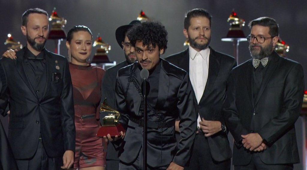 (Video) Puerto Candelaria, Fonseca y Cepeda ganaron Grammy Latino - Telemedellín