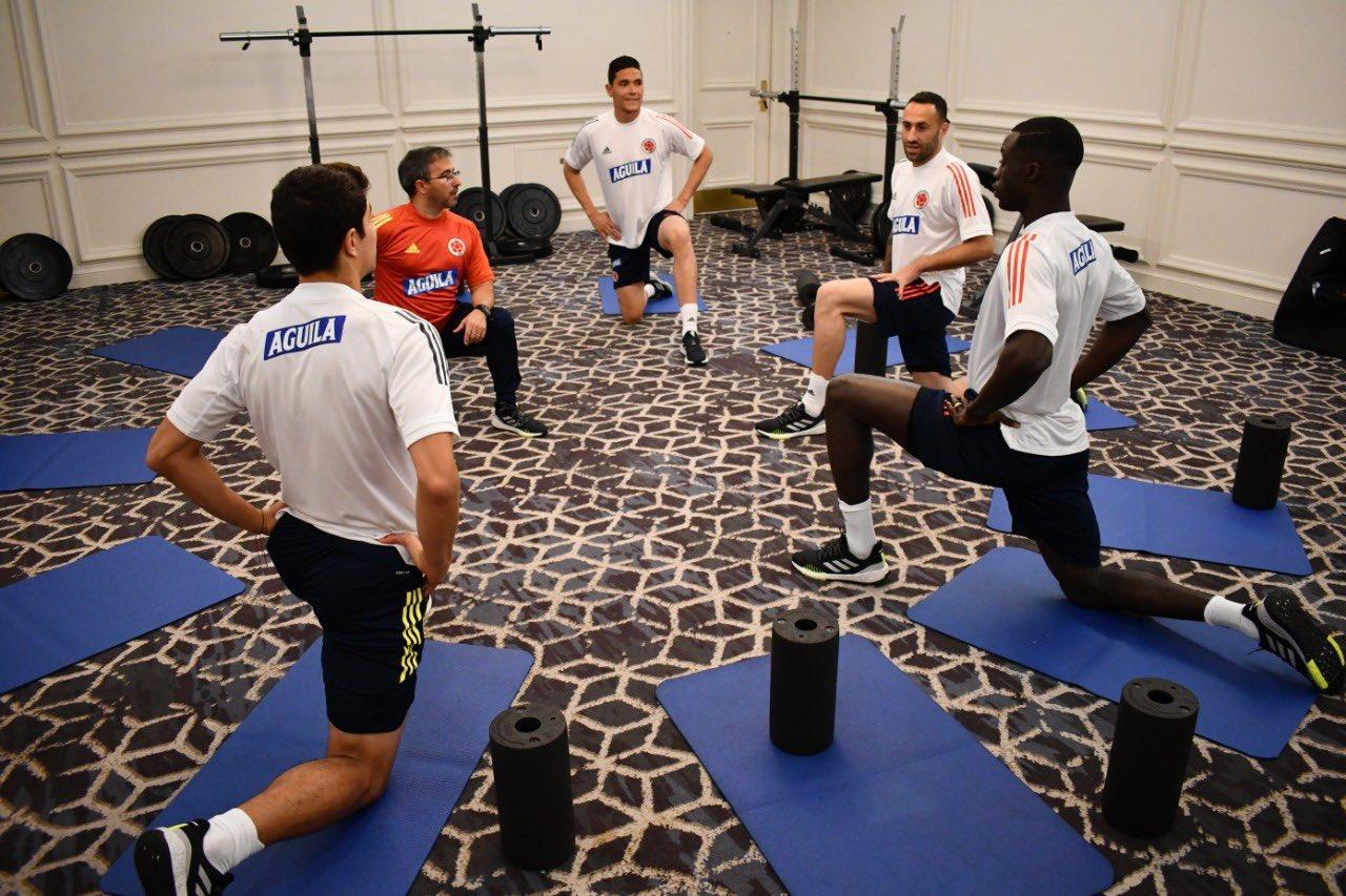 La Selección Colombia de mayores inició trabajos en Miami